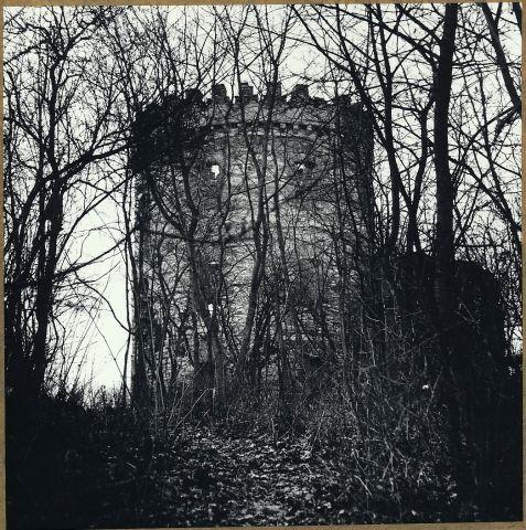 Zřícenina větrného mlýnu Windsor u Siřejovic