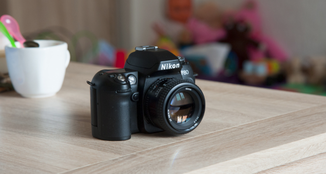 Nikon F80s a Nikon AF NIKKOR 50mm f/1.4D