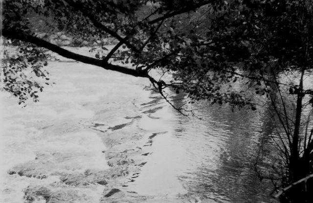 U splavu Bečvy