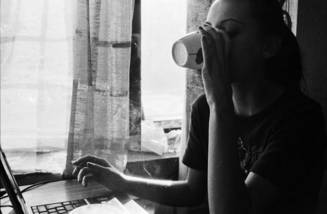 na káve